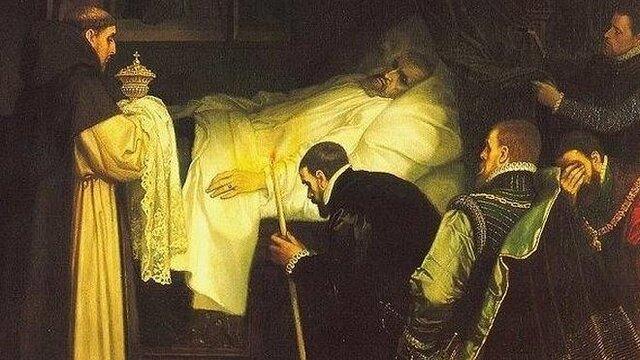 Defunció de Carles I