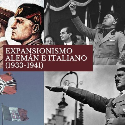 Expansión Alemana e Italiana 1931-1941 timeline