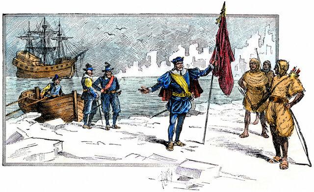 John Cabot finds Newfoundland
