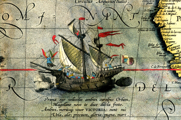 Ferdinand Magellan proves the Earth is round!