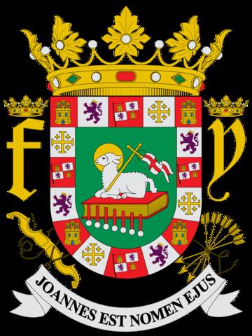 Los reyes de Espana le otorgaron el escudo a Puerto Rico