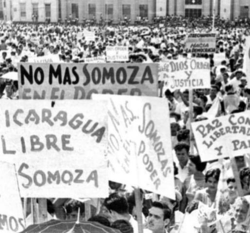 Huelga para Somoza