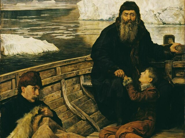 Henry Hudson brings many new world products back to England.