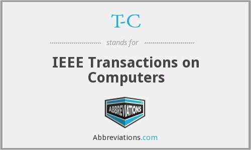 1968- Transactions on Computer