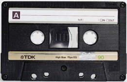 1962-The First audio cassette