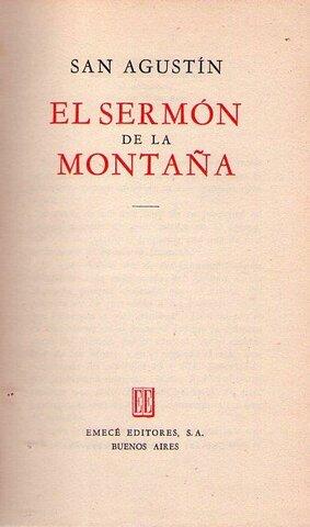Nuevo testamento-El Sermón de la Montaña