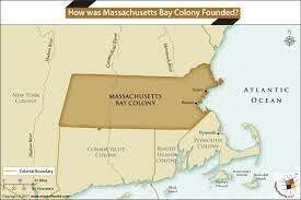 English Found Massachusetts Bay Colony