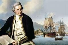 James Cook Lands on Australia