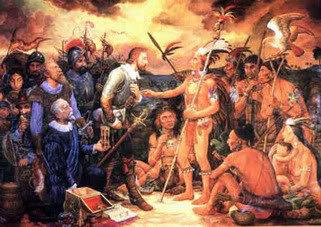 Los tainos se rebelaron contra los espanoles.