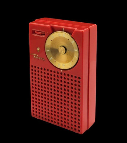"The first all-transistor radio called the ""TR-1"" was developed and marketed by Regency and Texas Instruments."