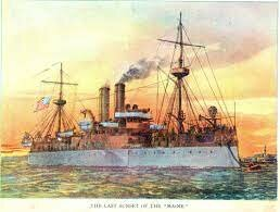 U.S. battleship Maine explodes in Havana Harbor.