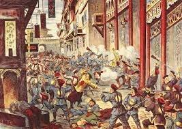 International alliance quells the Boxer Rebellion.