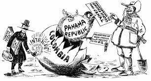 Panamanians revolt against Colombia.