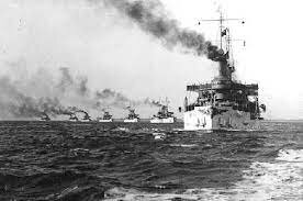 Great White Fleet circumnavigates the globe in a demonstration of America's rise to world-power status.