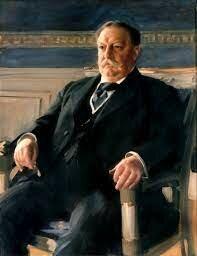 William Taft is inaugurated president.