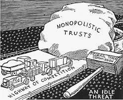 Congress passes the Clayton Anti-Trust Act.