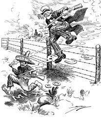 United States intervenes in Mexico.