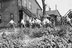 Race riots break out in Chicago.