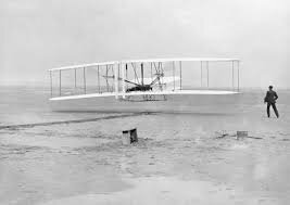 Wright Brothers fly the first airplane.