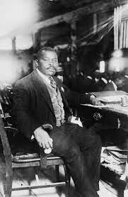 Marcus Garvey brings to New York the Universal Negro Improvement Association.