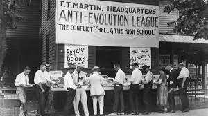 """Scopes """"monkey trial"""" tests the teaching of evolution in Tennessee public schools."""