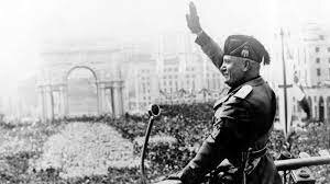Benito Mussolini comes to power in Italy.