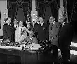 Congress passes the Glass-Steagall Act.