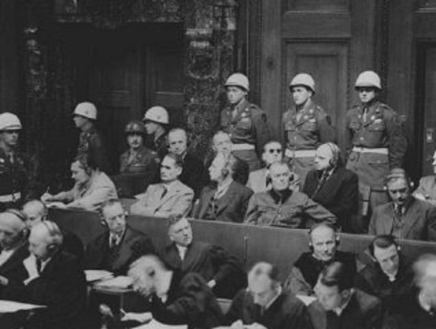 Nazi Leaders Court Case