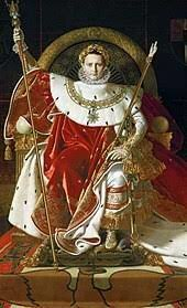 Napoleó entronitzat