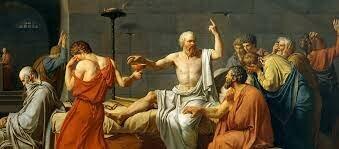La mort de Socrates