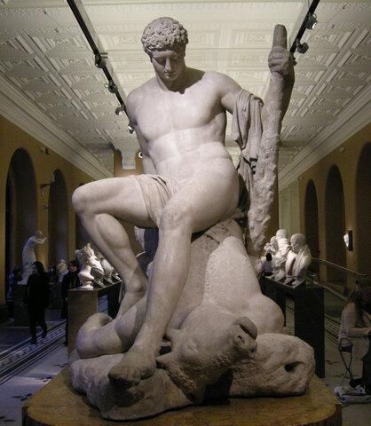 Neoclàssic - Teseu i el Minotaure