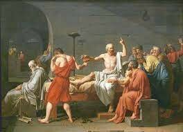 Neoclàssic - La Mort de Sòcrates