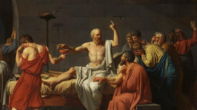 La Mort de Sòcrates