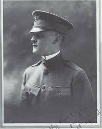 F. Scott Fitzgerald joins the Army