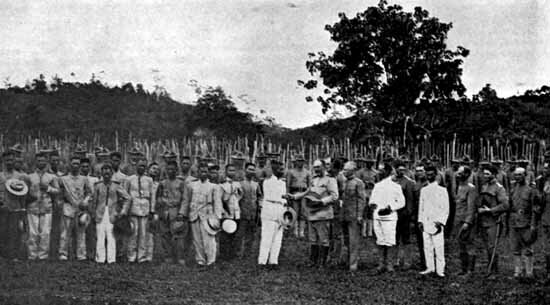 Spanish surrender of the Philippines