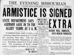 Armistice is signed between the US and Spain