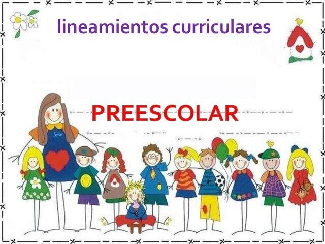Lineamientos pedagógicos del  nivel preescolar.