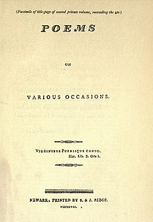 ''Various Occasions''