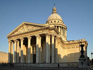 Panthéon( neuf Mai 1781)