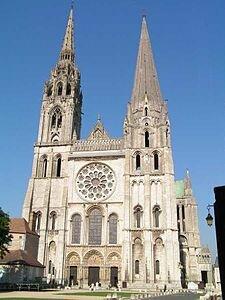 Cathédrale Notre-Dame de Chartres( huit Janvier 1220)