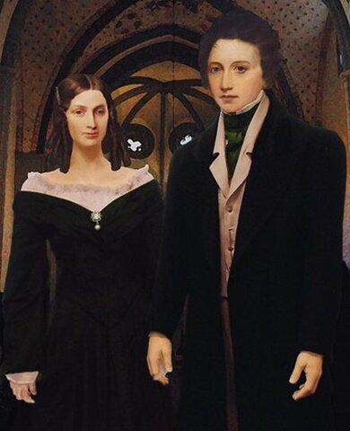 The Shelleys visit Byron.