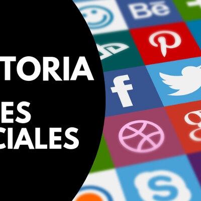 Historia Redes Sociales timeline