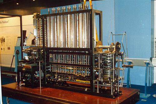 Creación Máquina Analítica Charles Babbage