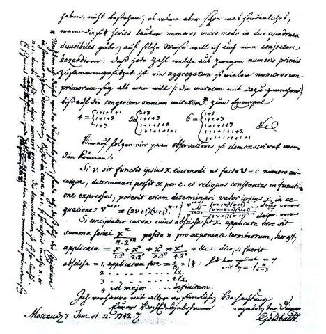 Goldbach's conjecture.