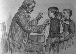 Educación caracterizada por la desconfianza en el mundo Adulto.