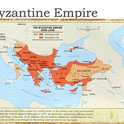 Byzantine Empire timeline