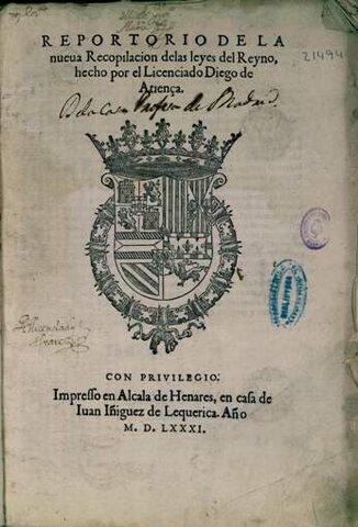 Nueva recopilación de Leyes de Castilla