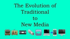 Exposure to traditional and new media timeline