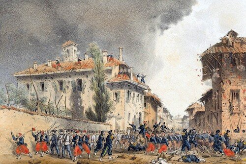 Batalla de Magenta (4/Jun/1859).