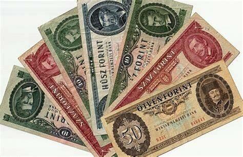 Az új pénz a forint bevezetése